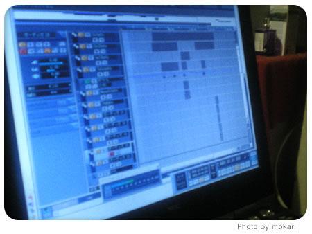 20080529-夫さんとその仲間たちが、うちでレコーディングをしていた。