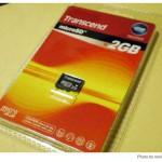 安いので上海問屋のmicroSDカード 2GBを購入