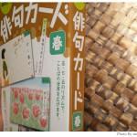 くもん出版の俳句カードを購入してみました。良。