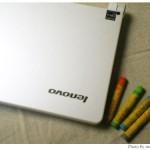 レノボの箱かわいい。Lenovo IdeaPad S10eモニター(1)