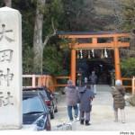 2010年新年、大田神社へ。