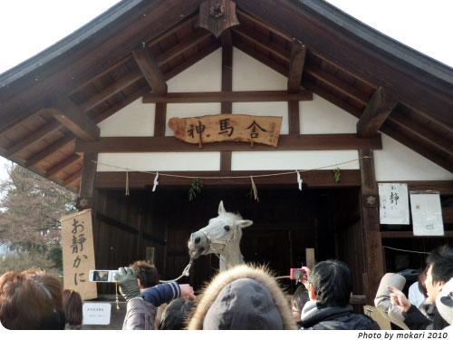 20100122-1 2010年新年、上賀茂神社へ。(1)