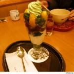 京都伊勢丹「茶寮都路里」に行きました