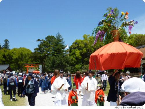 2010年葵祭 やすらい祭り