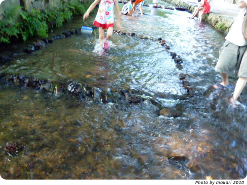20100807-12 京都精華大学とコラボ。上賀茂神社アートプロジェクト2010(2)