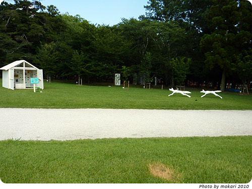 20100807-4 京都精華大学とコラボ。上賀茂神社アートプロジェクト2010