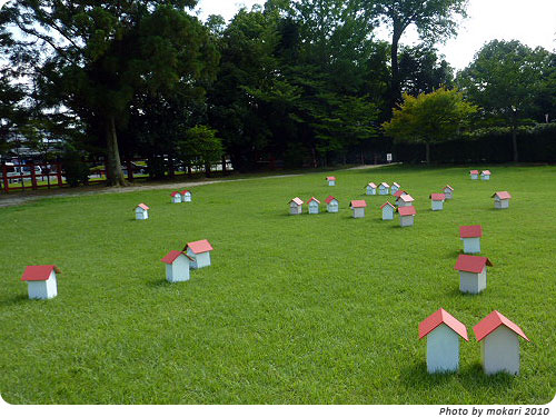 20100807-5 京都精華大学とコラボ。上賀茂神社アートプロジェクト2010