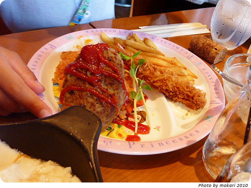 20100921-4 Tawawa新風館店で京野菜ランチバイキング