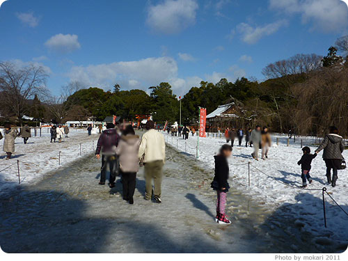 20110103-3 2011年新年、上賀茂神社へ。