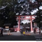 2012年新年、上賀茂神社へ。