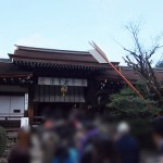 2014年初詣は上賀茂神社へ。