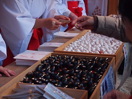 P1020591 2014年初詣は上賀茂神社へ。