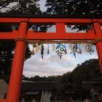 2013年初詣は上賀茂神社へ。
