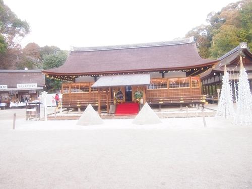 P1071967 2013年初詣は上賀茂神社へ。