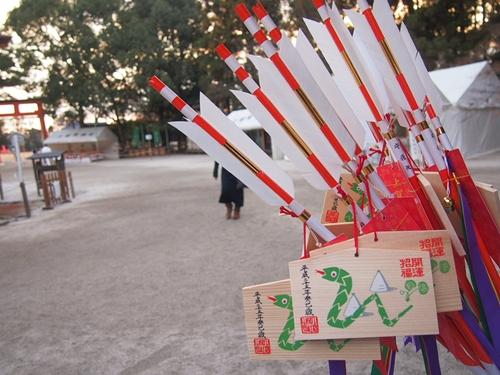 P1071975 2013年初詣は上賀茂神社へ。