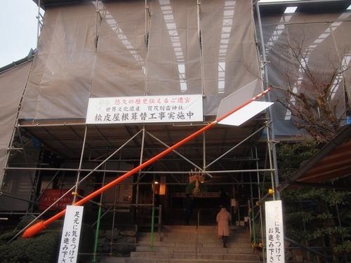 P1071994 2013年初詣は上賀茂神社へ。