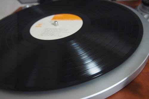 P1274568 彼の居ぬ間にDENONのレコードプレイヤーを使った結果