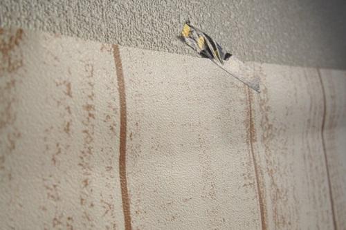 P3275564 白っぽいウッド調の壁紙