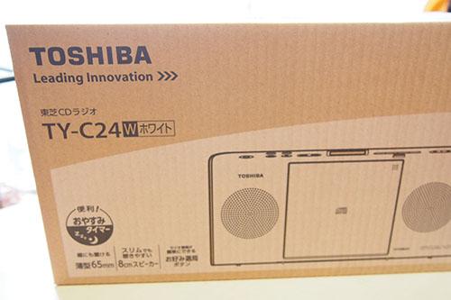 TY-C24 CDラジオ 箱