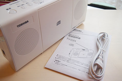 東芝 TY-C24 CDラジオ