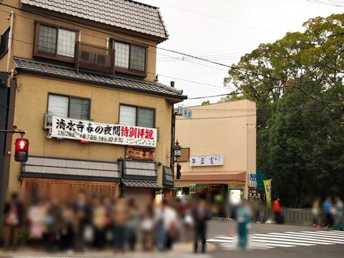 P3294620 清水寺の夜の特別拝観に行きました(2013年3月)