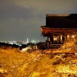 清水寺の夜の特別拝観に行きました(2013年3月)