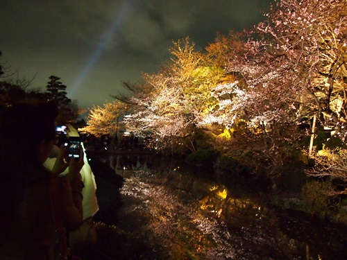 P3294732 清水寺の夜の特別拝観に行きました(2013年3月)