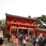 八坂神社におまいり&桜(2013年3月)