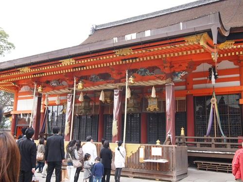 P3314805 八坂神社におまいり&桜(2013年3月)