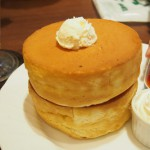 星乃珈琲店のスフレパンケーキ