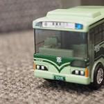 京都市バス「チョロQ」がカワイイので買ってきた