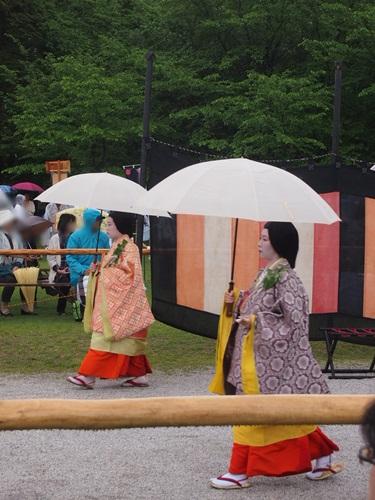 P5152932 雨の葵祭(2014年)上賀茂神社でみる