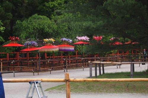 P5152949 雨の葵祭(2014年)上賀茂神社でみる