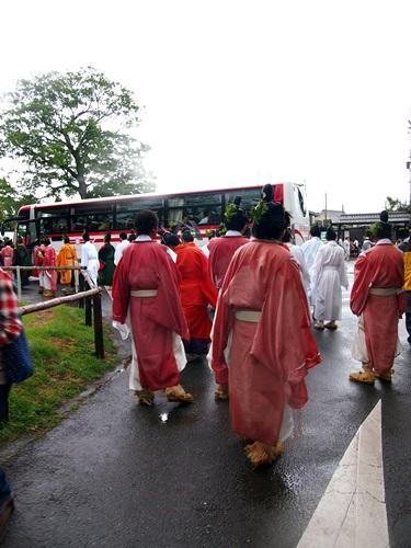 P5152960 雨の葵祭(2014年)上賀茂神社でみる