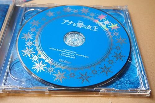 P6043183 2枚組デラックス盤『アナと雪の女王』のサントラ買った♪