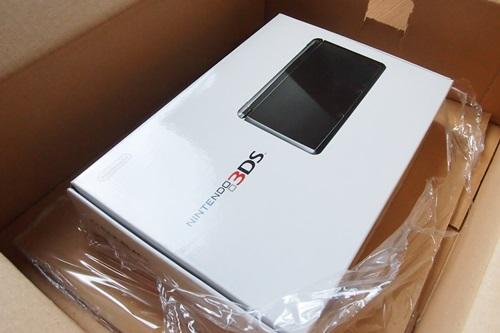 PC103736 楽天で買ったニンテンドー3DSが届きました