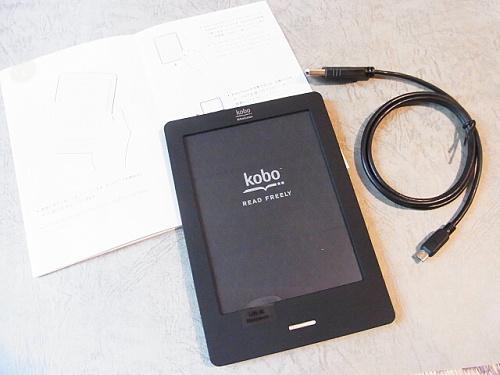 R1155539 楽天「kobo Touch」届いた。とある人妻の感想