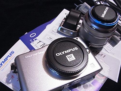R1159334 新しい仲間「OLYMPUS PEN mini E-PM1」を紹介します。