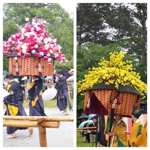 aoi-2014-01 雨の葵祭(2014年)上賀茂神社でみる