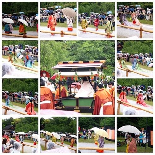 aoi-2014-02 雨の葵祭(2014年)上賀茂神社でみる