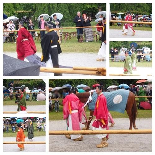 aoi-2014-03 雨の葵祭(2014年)上賀茂神社でみる