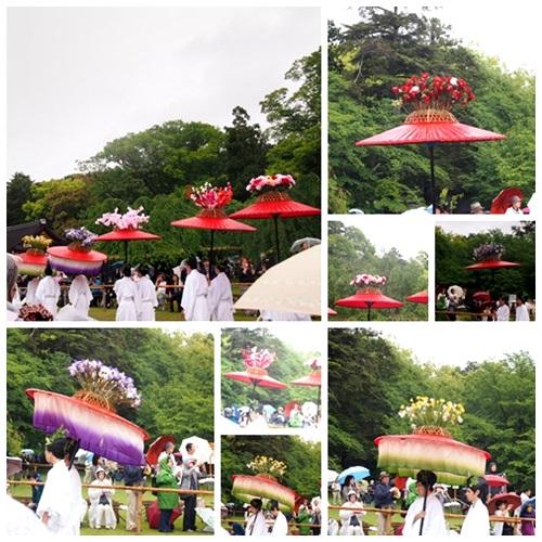 aoi-2014-04 雨の葵祭(2014年)上賀茂神社でみる